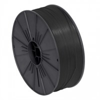 "Plastic Twist Tie Spool, Black 5/32"" x 7000'"