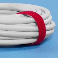 "VELCRO® Hook and Loop, Straps, Self-Grip, 3/4"" x 75', Red"