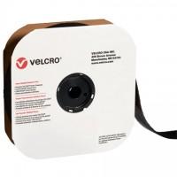 """VELCRO® Hook and Loop, Strips, Loop, 4"""" x 75', Black"""