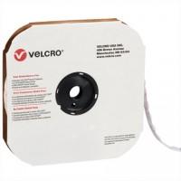 """VELCRO® Hook and Loop, Dots, Loop, 1 3/8"""", White"""