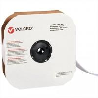 """VELCRO® Hook and Loop, Strips, Loop, 2"""" x 75', White"""