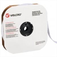 """VELCRO® Hook and Loop, Strips, Loop, 1 1/2"""" x 75', White"""
