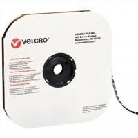 """VELCRO® Hook and Loop, Dots, Loop, 5/8"""", Black"""
