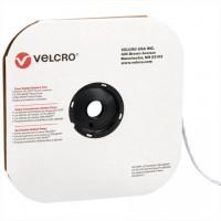 """VELCRO® Hook and Loop, Dots, Loop, 1/2"""", White"""