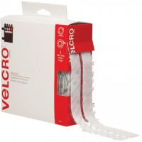 "VELCRO® Hook and Loop, Combo Pack, Strips, 3/4"" x 15', White"