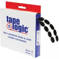 "Hook and Loop, Combo Pack, Dots, 3/4"", Black"