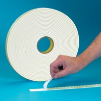 "3M 4032 Double Sided Foam Tape, 1/32"" Thick - 3/4"" x 72 yds."