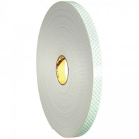 "3M 4008 Double Sided Foam Tape, 1/8"" Thick - 1"" x 36 yds."