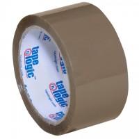 "Tan Carton Sealing Tape, Industrial, 2"" x 55 yds., 2.6 Mil Thick"