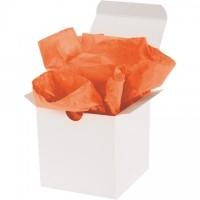 "Orange Tissue Paper Sheets, 20 X 30"""