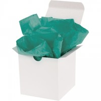 """Teal Tissue Paper Sheets, 20 X 30"""""""