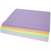 """Pastel Tissue Paper Sheets, Assortment Pack, 20 X 30"""""""