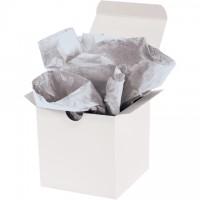 "Metallic Silver Tissue Paper Sheets, 20 X 30"""