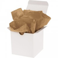 "Kraft Tissue Paper Sheets, 15 X 20"""