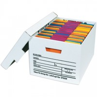 Quick File Storage Boxes, 15 x 12 x 10""