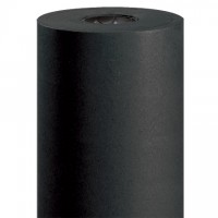 "Black Kraft Paper Rolls, 24"" Wide - 50 lb."