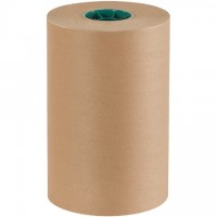 "Poly Coated Kraft Paper Rolls, 12"" Wide - 50 lb."