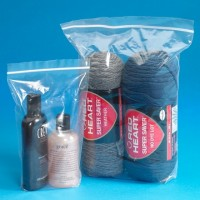 """Reclosable Poly Bags, 4 x 2 x 6"""", 2 Mil, Gusseted"""