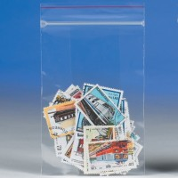 "Minigrip® Reclosable Poly Bags, 2 x 8"", 2 Mil"
