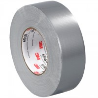 "3M 6969 Silver Duct Tape, 2"" x 60 yds., 10.7 Mil Thick"