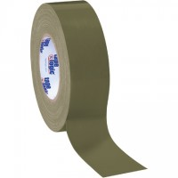 "Olive Green Duct Tape, 2"" x 60 yds., 10 Mil Thick"