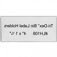 """Bin Label Holders, 1 3/4 x 4"""""""