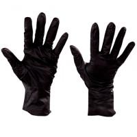 Black Nitrile Gloves - 6 Mil - Medium