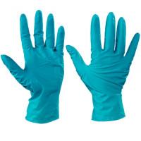 Ansell® Touch N Tuff® Green Nitrile Gloves - 5 Mil - Medium