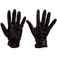 Best® Nighthawk™ Black Nitrile Gloves - 6 Mil - Small