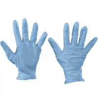 Best® N-Dex® Blue Nitrile Gloves - 4 Mil - Medium
