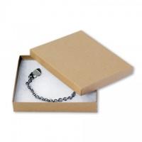 "Chipboard Boxes, Gift, Jewelry, Kraft, 6 x 5 x 1"""