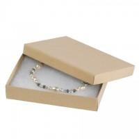 "Chipboard Boxes, Gift, Jewelry, Kraft, 5 1/4 x 3 3/4 x 7/8"""