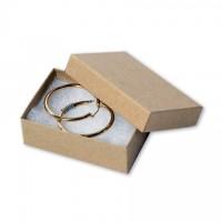 "Chipboard Boxes, Gift, Jewelry, Kraft, 3 1/16 x 2 1/8 x 1"""