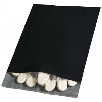 Poly Mailers, Black, 10 x 13""