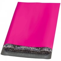 Poly Mailers, Pink, 12 x 15 1/2""