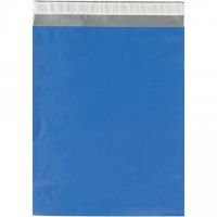 Poly Mailers, Blue, 12 x 15 1/2""