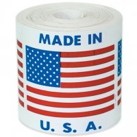 """ Made In U.S.A."" Labels, 2 x 2"""