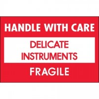 """ Delicate Instruments - HWC"" Labels, 2 x 3"""