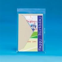 """Resealable Polypropylene Bags, 6 1/4 x 6 1/4"""", 1.5 Mil"""