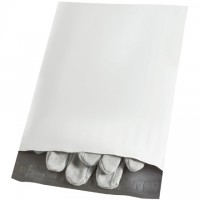 Poly Mailers With Tear Strip, 7 1/2 x 10 1/2""
