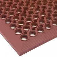 "Terra Cotta Slip Resistant Drainage Mat - 1/2"" thick, 3 x 5'"