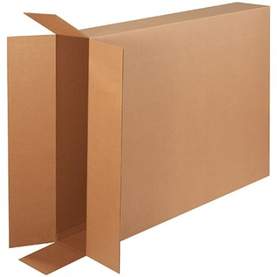 Corrugated Boxes, Side Loading, Double Wall, 40 x 8 x 50