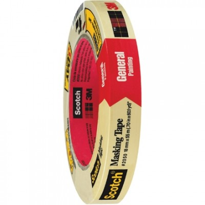 3M 2050 Masking Tape, 3/4