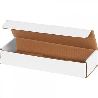 Indestructo Mailers, White, 12 x 4 x 2