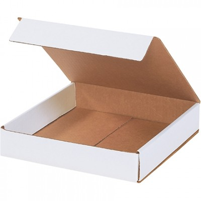 Indestructo Mailers, White, 10 x 10 x 2