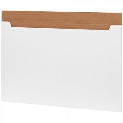 Jumbo Fold-Over Mailers, White, 36 x 24 x 1/4
