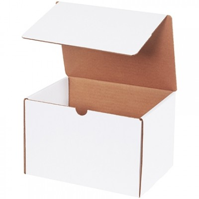 Literature Mailers, White, 9 x 6 1/2 x 6