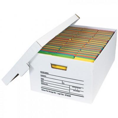 Quick File Storage Boxes, 24 x 15 x 10
