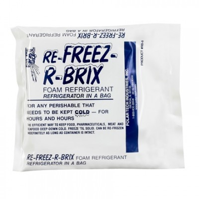 Re-Freez-R-Brix™ 7.5 oz. Cold Bricks - 4 1/2 X 4 X 3/4