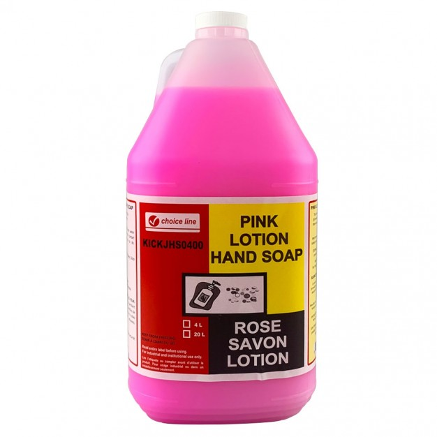 Pink Lotion Hand Soap - 4L
